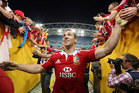 George North of the Lions. Photo / Getty Images.