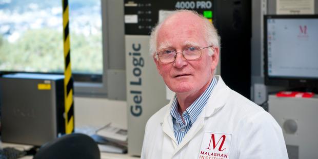 Professor Mike Berridge of the Wellington-based Malaghan Institute. Photo: Malaghan Institute