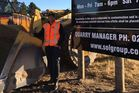McCaw gets dirty, buys into quarry