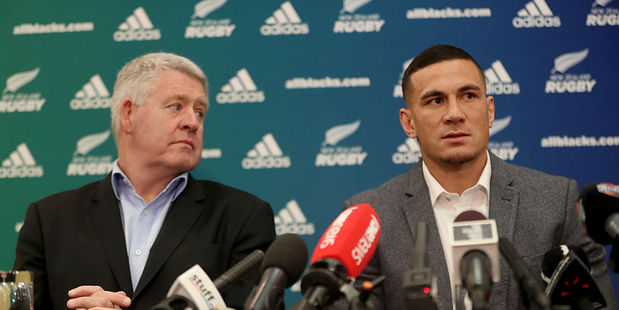 Loading Sonny Bill Williams announced his allegiance to New Zealand Rugby earlier this week. Photo / Getty