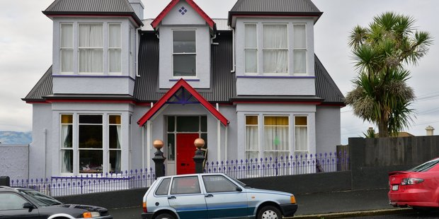 The house at 49 Brown St Dunedin, which was the setting for the cult film Scarfies, is up for sale.