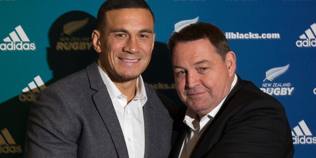 Sonny Bill Williams' re-signing has the potential to alter the Blues' fortunes. Photo / Getty