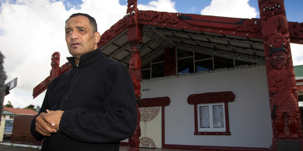 Loading Te Puea Marae Chairman, Hurimoana Dennis fronts media on the current housing crisis and how they are holding 30-odd people in the Mangere marae. Photo / Nick Reed