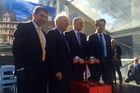 Central Rail Link officially starts. Photo: Amelia Wade