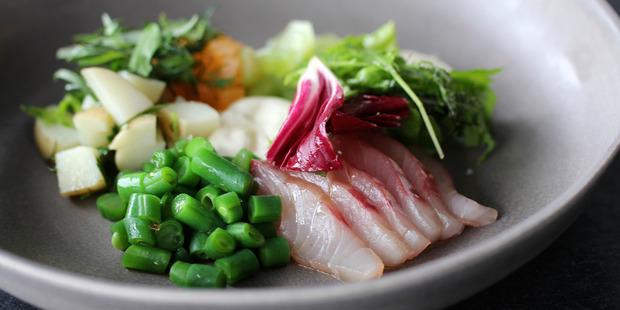 Salad Nicoise. Photo / Nick at Paris Butter