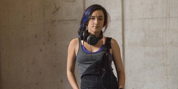 Loading Keisha Castel-Hughes in a new television show Roadies appearing on the SoHo channel. Photo / Supplied