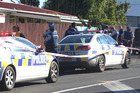 The scene were a two-year-old girl died after suffering gunshot wounds. Photo: Jason Oxenham