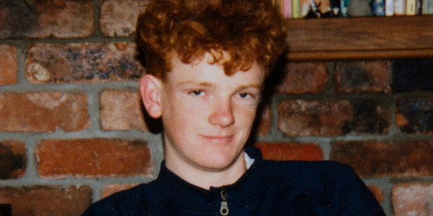 Ashley Peacock as a young man, before he entered the mental health system. Photo / Supplied