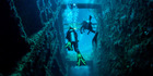 Diving around the shipwreck of the President Coolidge at Espiritu Santo. Photo / David Kirkland / Tourism Vanuatu