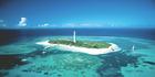 Amedee Island in New Caledonia.
