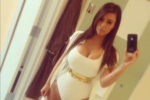 "Kim Kardashian - ""in control of her body"" according to feminists. Photo / Instagram"