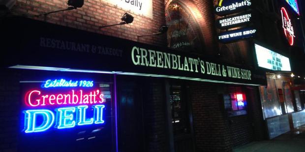 Greenblatt's Deli and Wine Store, Los Angeles.