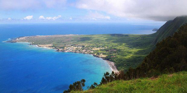 Kalaupapa Lookout offers stunning views of Molokai, Hawaii. Photo / 123RF