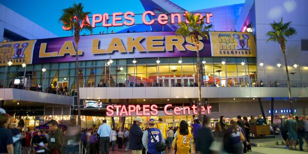 As well as sporting greats, the Staples Center has hosted many of the world's greatest musical acts. Photo / 123RF