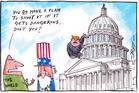 Cartoon: The rise of Trump