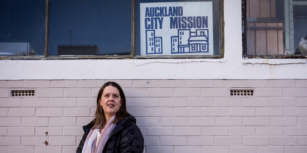 Loading Helen Robinson, Crisis Care and Community Services Team Leader at the Auckland City Mission. Photo / Dean Purcell