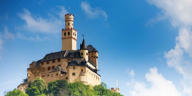 Castle Marksburg, in Germany, has stood for almost 900 years. Photo / 123RF