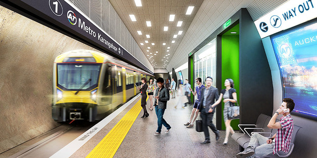 City Rail Link's ground-breaking is at Britomart at 10.30am today.