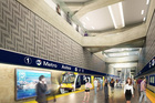 Artist impression of Aotea Station. Photo / AT