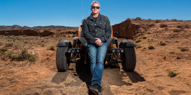 US actor and BBC Top Gear presenter Matt LeBlanc in Morocco. Photo / AP