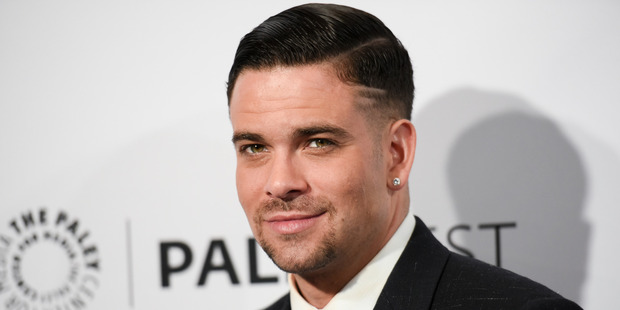 Actor Mark Salling has been cut from a film after being charged with possessing child pornography. Photo / AP