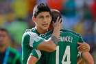 Mexican football star Alan Pulido, seen here in the last World Cup, is believed to have been kidnapped on Saturday night.