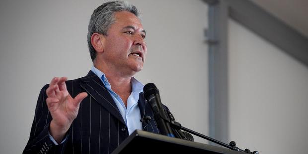 Whanau Waipareira chief executive John Tamihere. Photo /  Natalie Slade