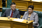 Green Party co-leader James Shaw said he struggled to feel as comfortable in Parliament as Metiria Turei. Photo / Mark Mitchell