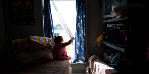 Child poverty has tracked sole parenting almost exactly. Photo / Richard Robinson