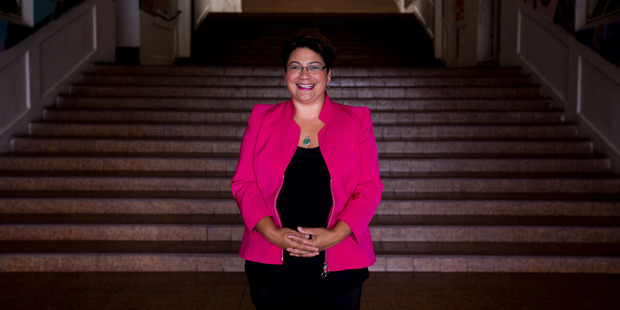Green Party MP and co-leader Metiria Turei. Photo / Dean Purcell