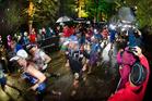 This year's Tarawera Ultramarathon start in the Redwoods. Photo/File