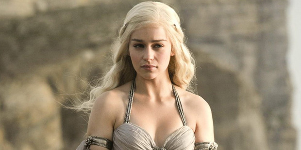 Emilia Clarke plays Dany and is one of the most searched for names on adult sites. Photo / Supplied