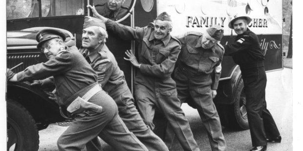 The Dad's Army museum is open every Saturday.