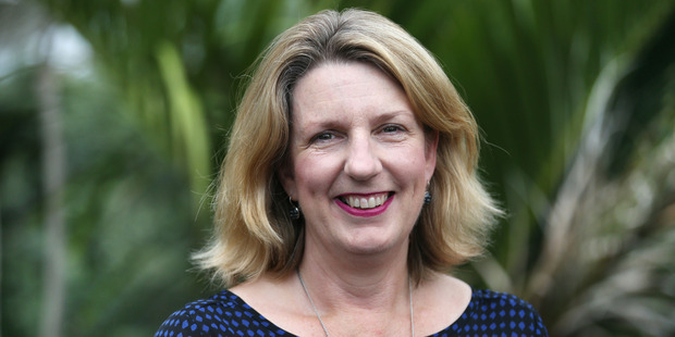 Associate Professor Susan Morton at the University of Auckland Tamaki Campus. Photo / Doug Sherring