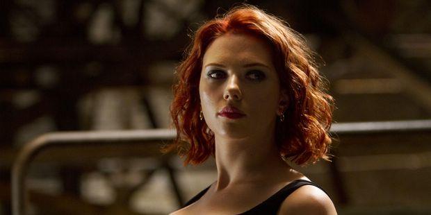 Scarlett Johansson in The Avengers. Photo / Supplied