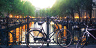 Amsterdam has 165 canals, yet the most common form of transportation is the ubiquitous bicycle. Photo / iStock