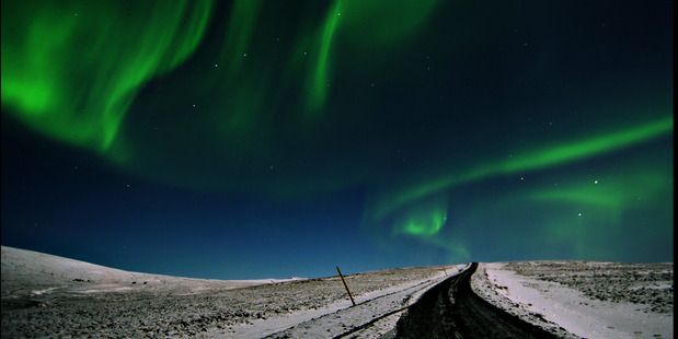 The Aurora Borealis in Iceland. Photo / Flickr