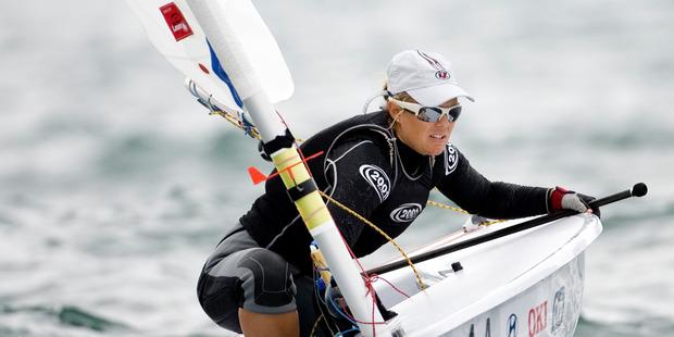 New Zealand sailor Sara Winther. Photo / Richard Robinson
