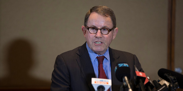 Loading John Banks was scathing of the Crown at a press conference following the Court of Appeal decision to cancel his retrial.