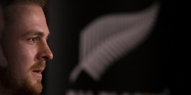 Loading New Zealand All Blacks loose forward Sam Cane. Photo / Brett Phibbs.