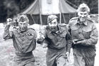 Lance-Corporal Jones, Private Walker and Sergeant Wilson from Dad's Army.