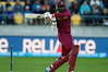 West Indies batsman Chris Gayle in action against New Zealand during their ICC Cricket World Cup 2015 quarter-final played at the Wellington Regional Stadium. Photo / Mark Mitchell