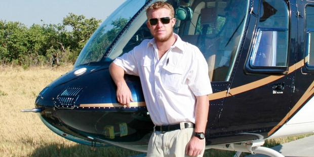 Helicopter pilot Mitch Gameren was one of seven people killed with the helicopter crashed in November. Photo / Facebook