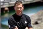 Board sailor Jon Paul Tobin. Photo / Richard Robinson.