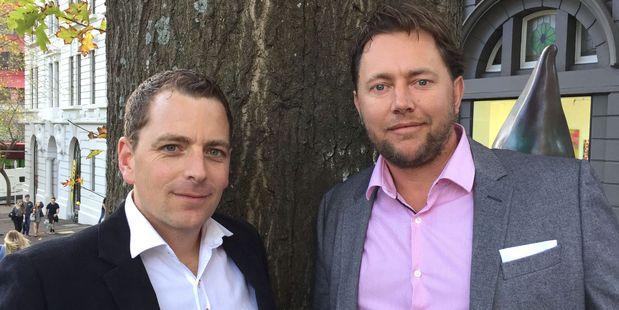 Accenture's Ben Morgan (L) and Michael Buckley.