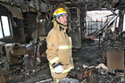 Fire safety officer John Rewi. Photo/File