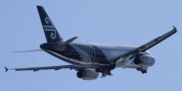 An Air New Zealand Airbus A320. Photo / Mark Mitchell