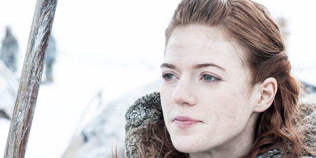 Rose Leslie as Ygritte. Photo / Supplied