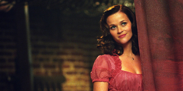 Reese Witherspoon as June Carter in Walk the Line. (Supplied)