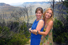 Cindy Waldron (left) is still missing after going for a late-night dip with her friend, Leeann Mitchell. Photo / Facebook